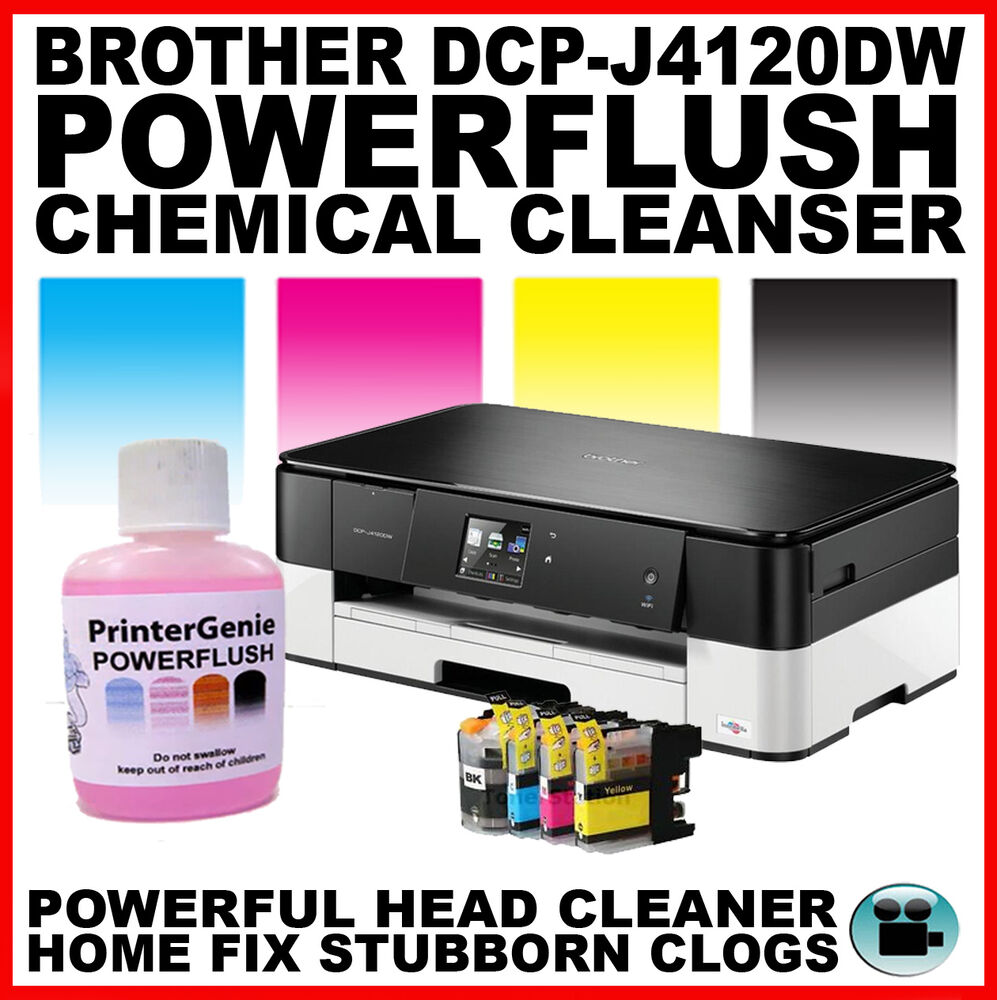 how to clean printing heads brother