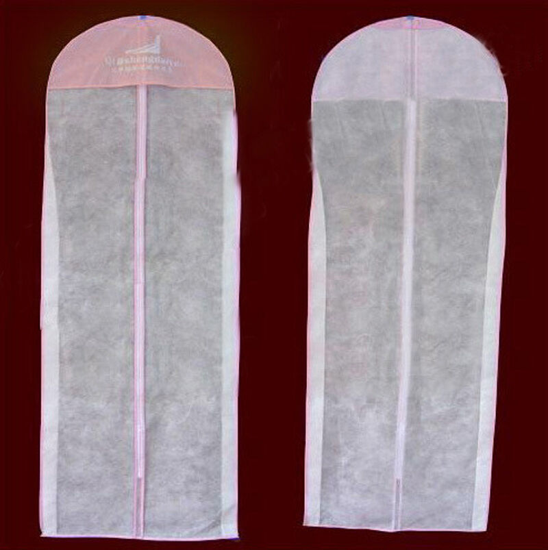 Garment Storage Bag Wedding Dress Clothes Cover Hanging Bags Bridal Ball Gown