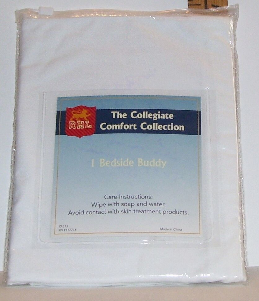 bedside buddy. NEW RHL THE COLLEGIATE COMFORT COLLECTION BEDSIDE BUDDY WHITE ORGANIZER NIP | EBay Bedside Buddy