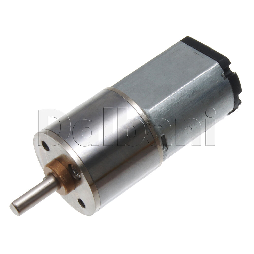6v Dc 60 Rpm High Torque Sealed Gearbox Electric Motor