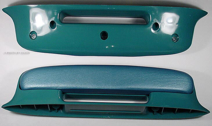 2 Blue Arm Rests For 1957 57 Chevy Bel Air Chevrolet Ebay