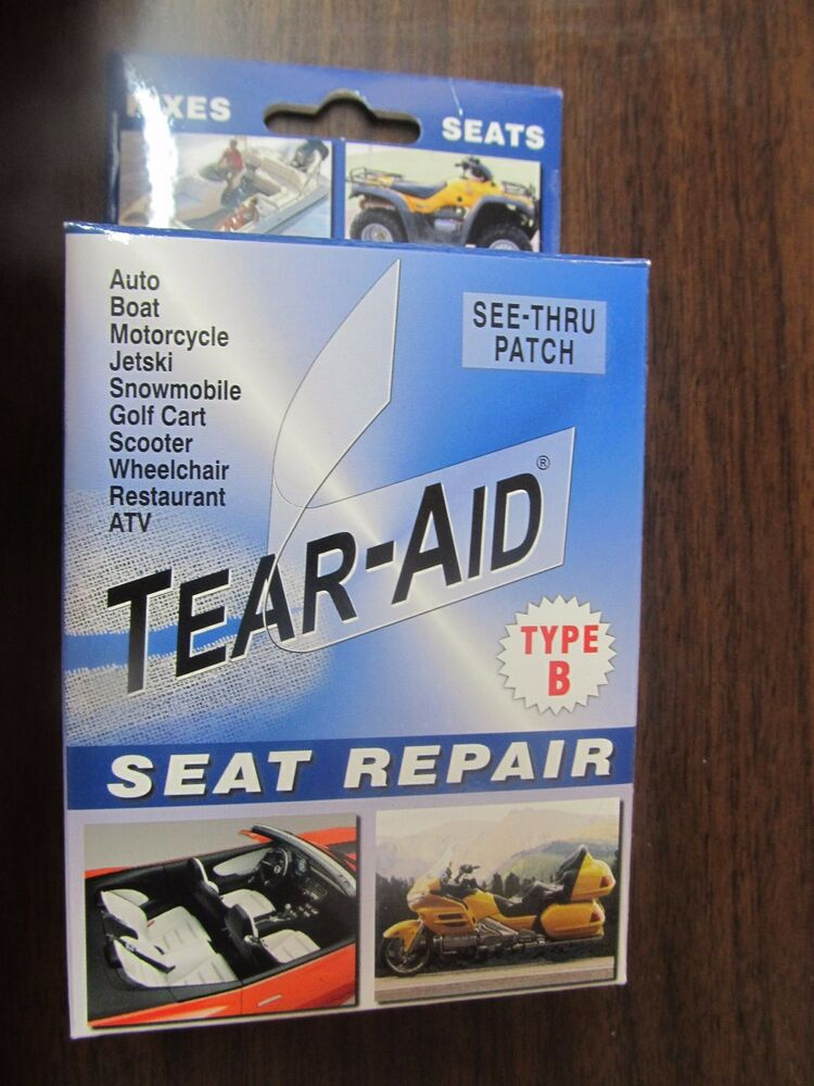 One 1 Tear Aid Seat Repair Type B Vinyl Patch New Free