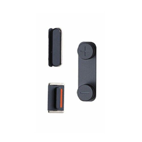 mute button on iphone new black power volume mute switch button set for iphone 5 4729