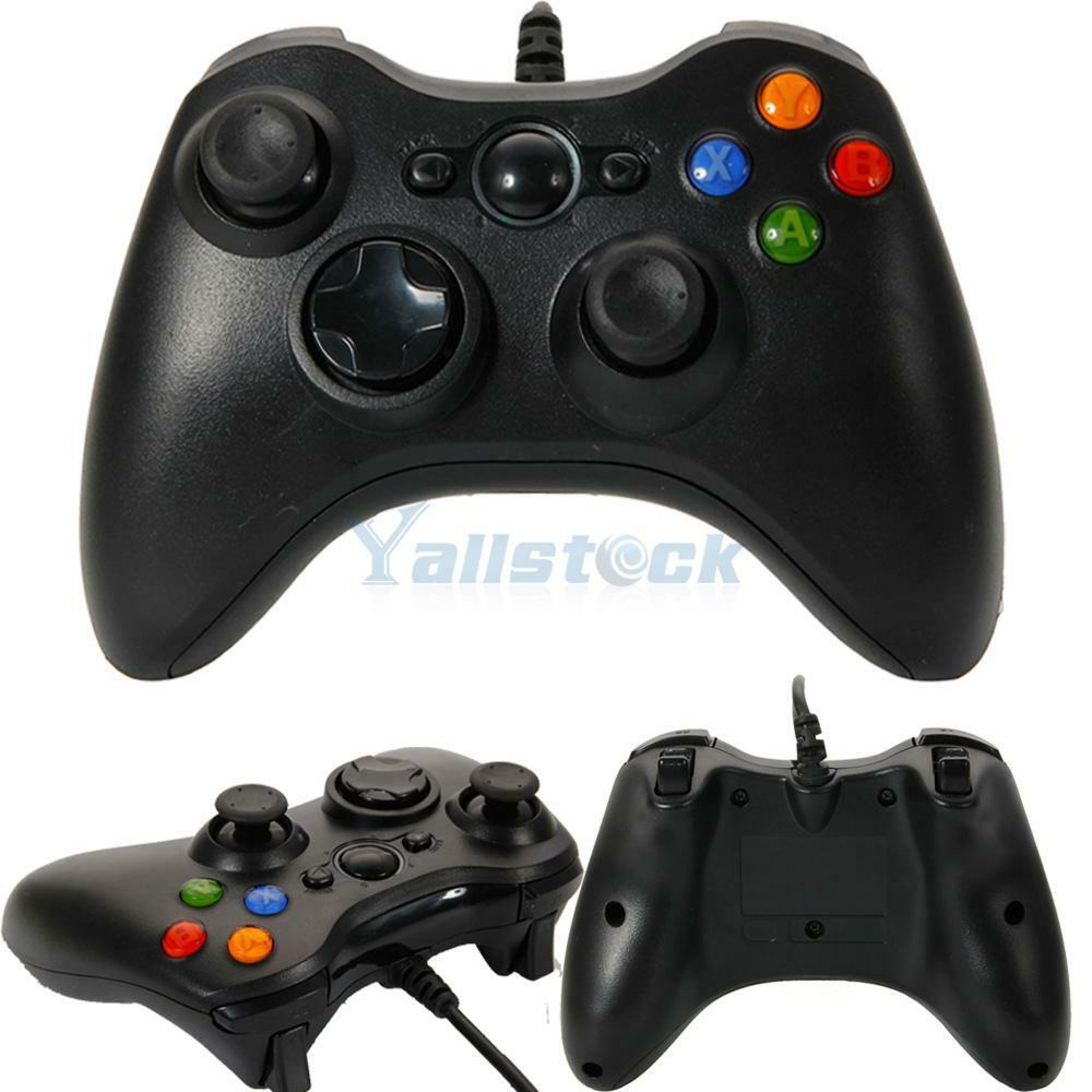 XBox 360 Wired USB Gamepad Controller Joystick Joypad for ...