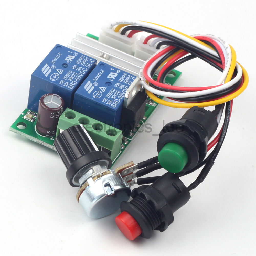 6v 12v 24v 3a pwm dc motor speed controller forward for Motor speed control pwm