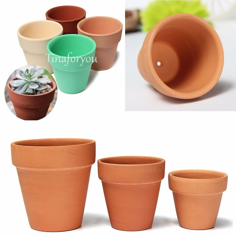 Ceramic Terracotta Clay Handmade Plant Flower Pots Desktop