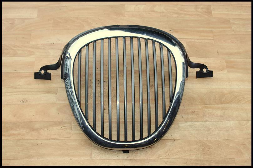 grille chrome front grill jaguar s type 1999 2002 ebay. Black Bedroom Furniture Sets. Home Design Ideas