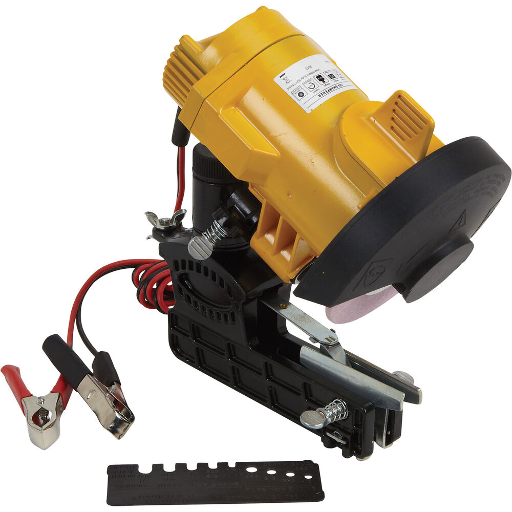 chainsaw chain sharpener roughneck bar mount chain saw sharpener ebay 10686