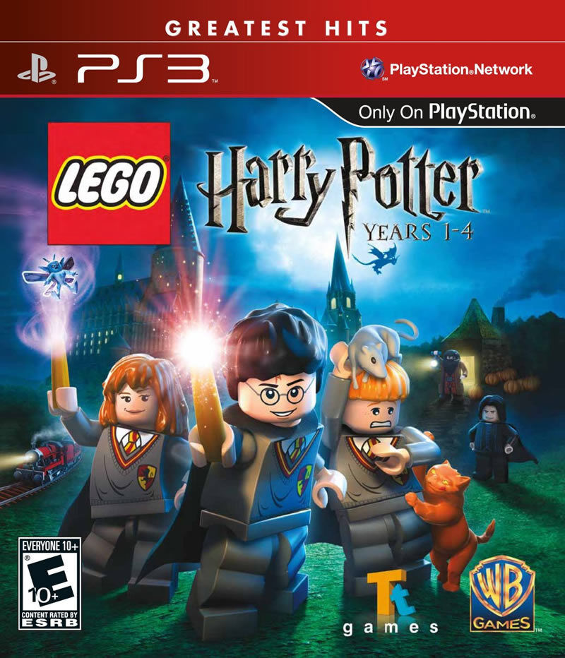 New Lego Games For Ps3 : Lego harry potter years ps new playstation