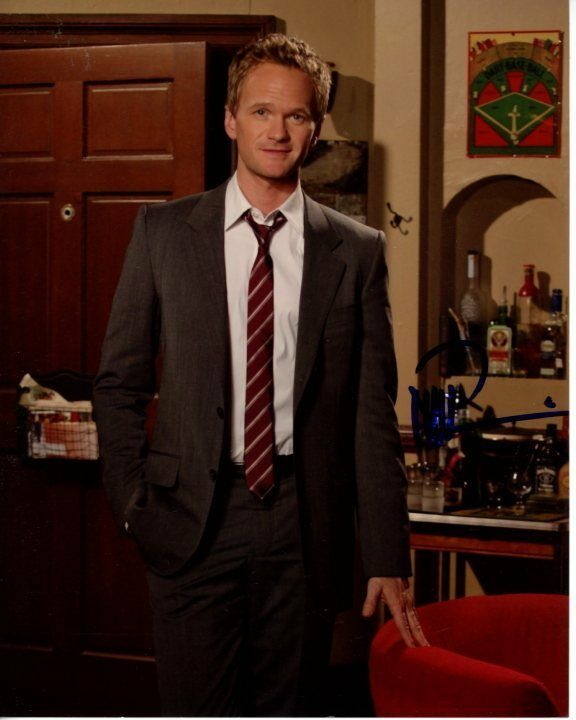 NEIL PATRICK HARRIS Signed Autograph HOW I MET YOUR MOTHER