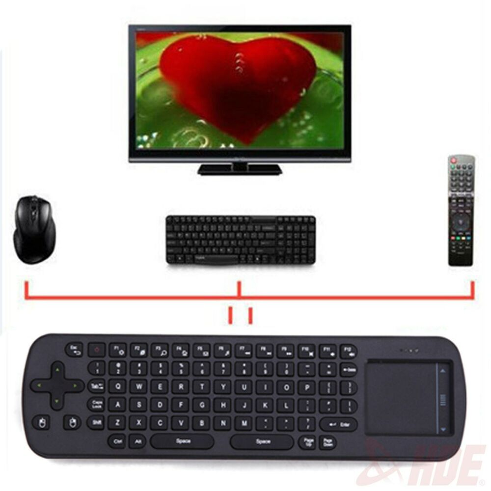 wireless mouse keyboard touchpad remote control laptop computer pc android tv ebay. Black Bedroom Furniture Sets. Home Design Ideas