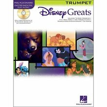 Disney Greats for Trumpet with Play Along CD - Hal Leonard
