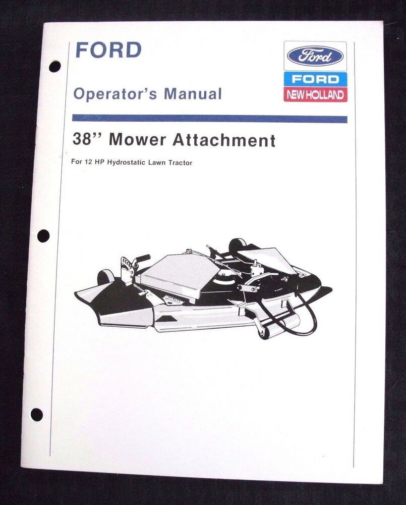 Tractor Manual Thickness : New holland hp hydrostatic tractor quot mower deck