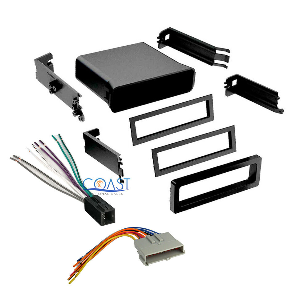2000 Ford Mustang Stereo Wiring Harness Great Design Of Universal Car Radio Pocket Dash Kit For Installation