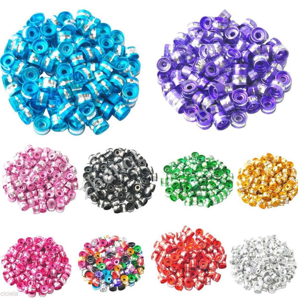 Pcs colorful aluminum tube spacer beads for charms