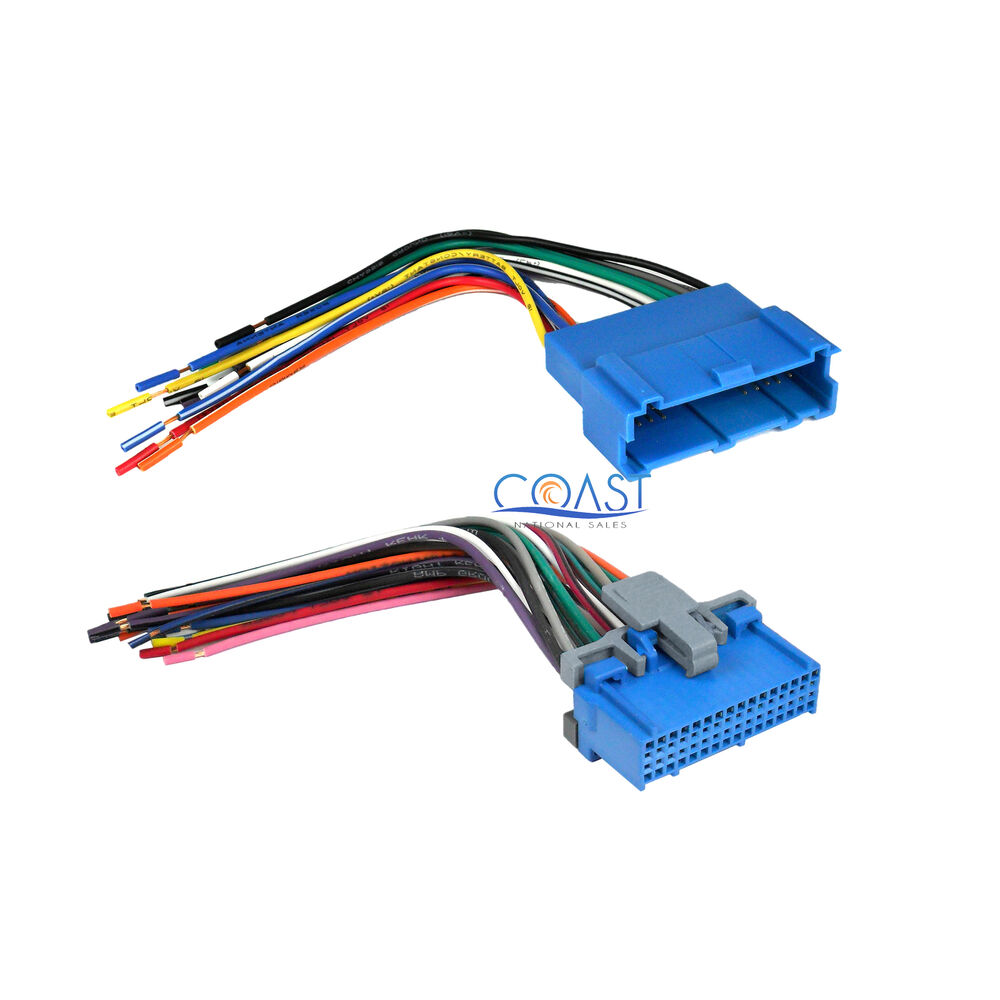 Stereo Radio Wire Harness Combo For Select 1994