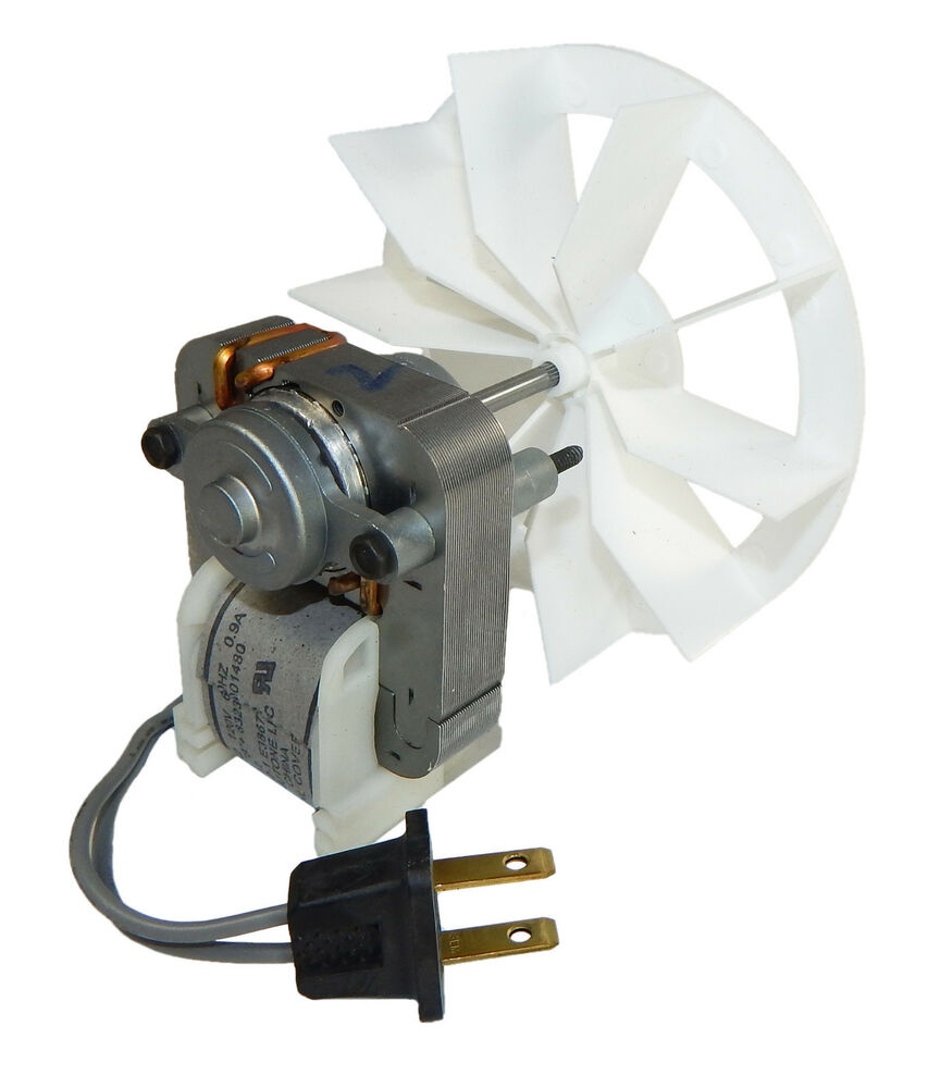 Broan replacement vent fan motor and blower wheel 50 cfm Commercial exhaust fan motor
