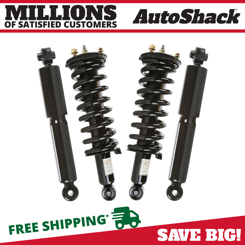 2 front complete strut assemblies 2 rear shocks for a 05. Black Bedroom Furniture Sets. Home Design Ideas
