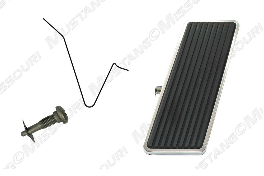 Ford Accelerator Pedal : Ford mustang accelerator gas pedal kit ebay