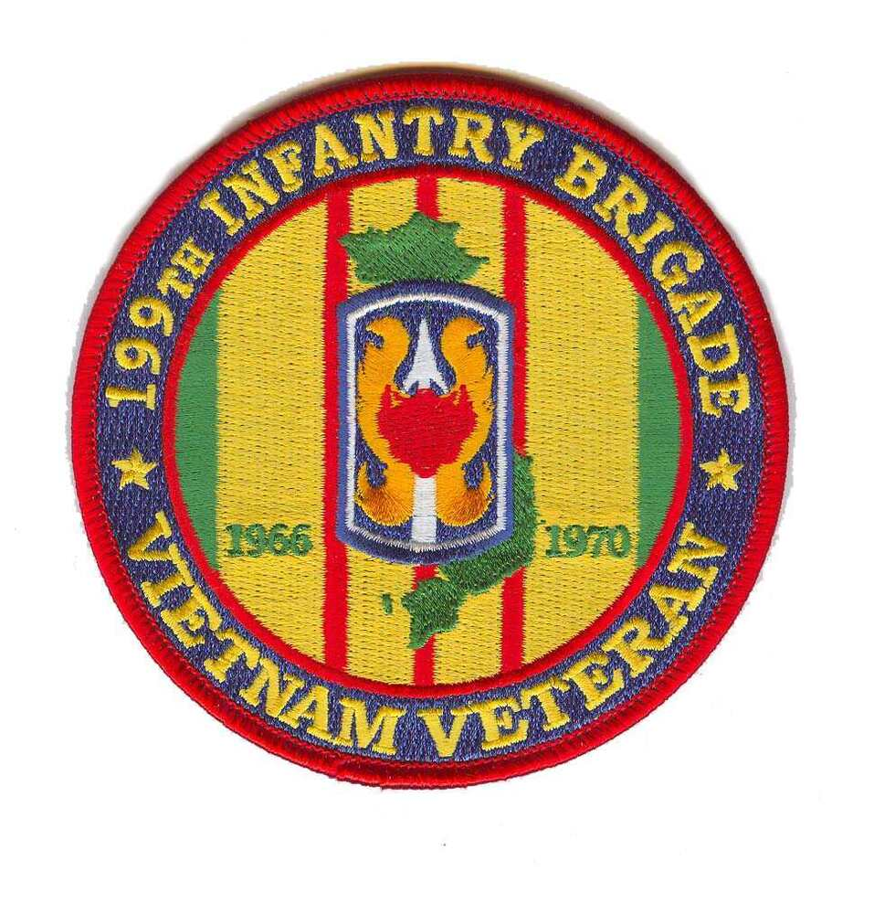 44th Medical Brigade Vietnam Veteran Patch |Vietnam Veteran Patches And Badges