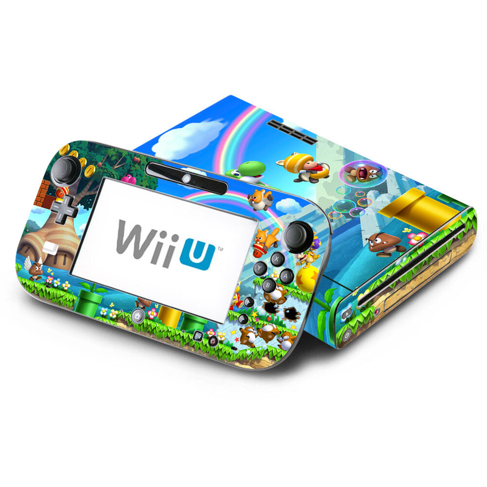 Skin Decal Cover For Nintendo Wii U Console Amp Gamepad