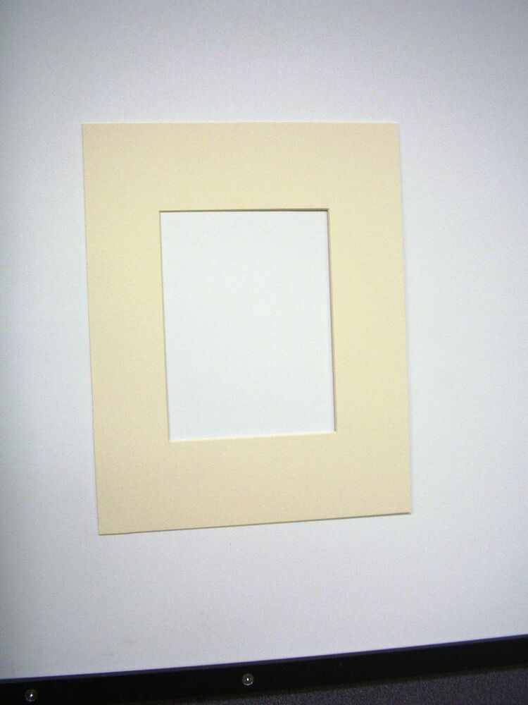 Picture Mat 11x14 Diploma Picture Framing Mat Ivory Custom