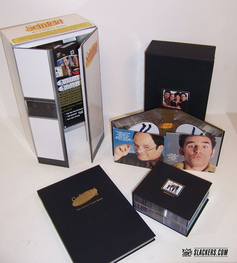 SEINFELD Complete Series REFRIGERATOR LTD ED BOX 33 Discs Coffee