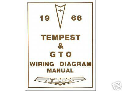 air conditioning wiring diagram 1964 nova 1966 66 gto/tempest wiring diagram manual | ebay air conditioning wiring diagram 66 gto
