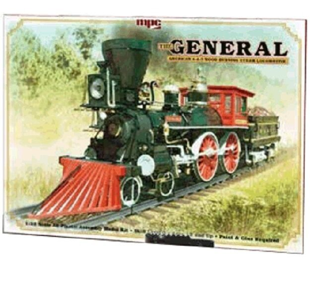 MPC The General American 4 4 0 Wood Burning Steam