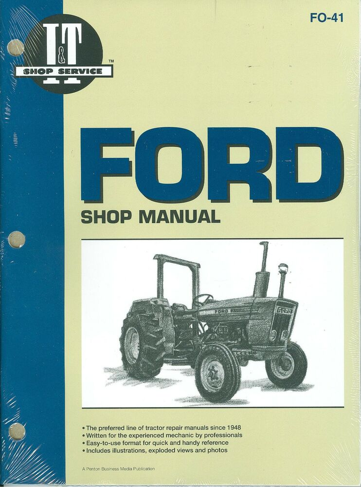 1975 Ford 2000 Tractor Parts : Ford tractor shop manual