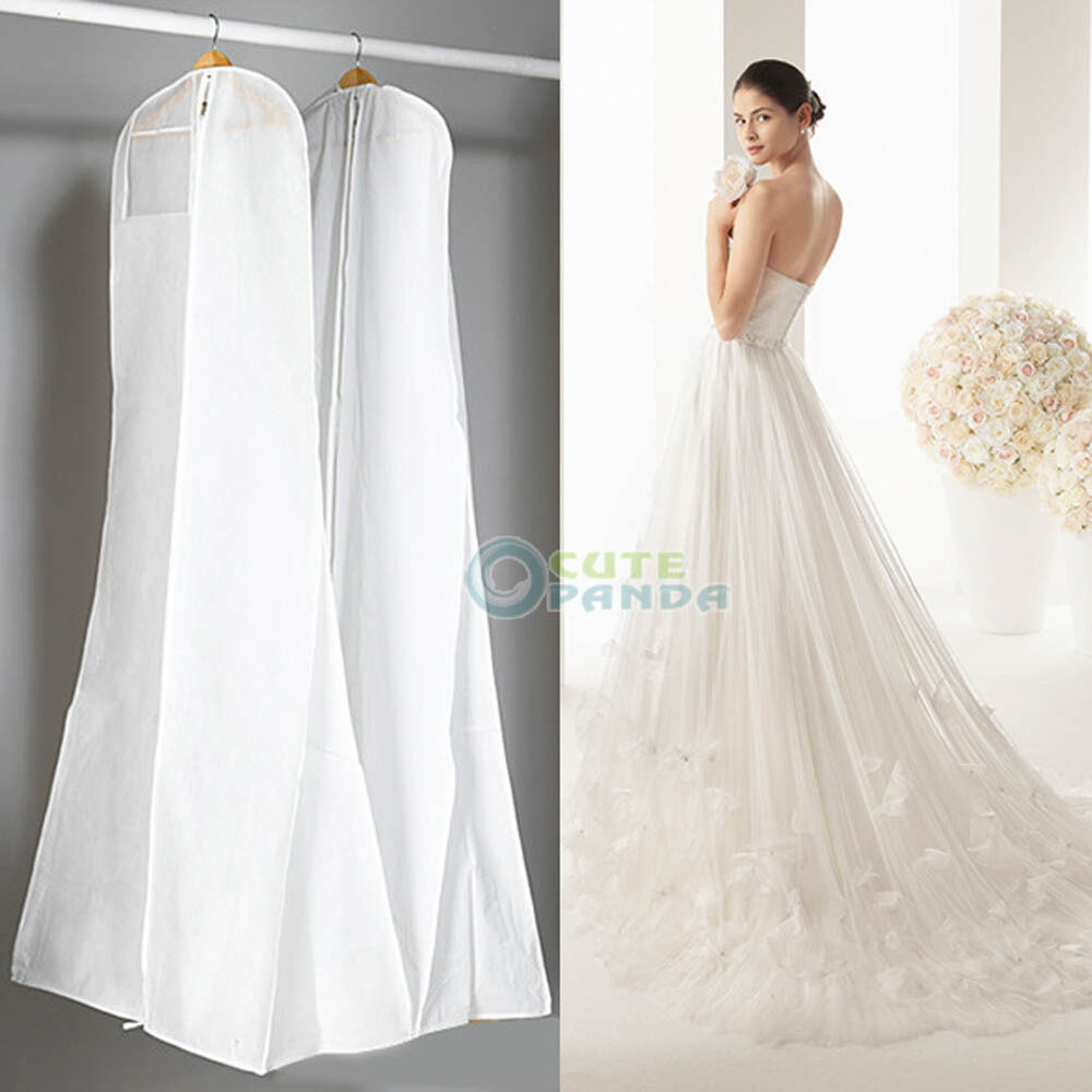 dress bridal gown garment dustproof breathable cover storage bag