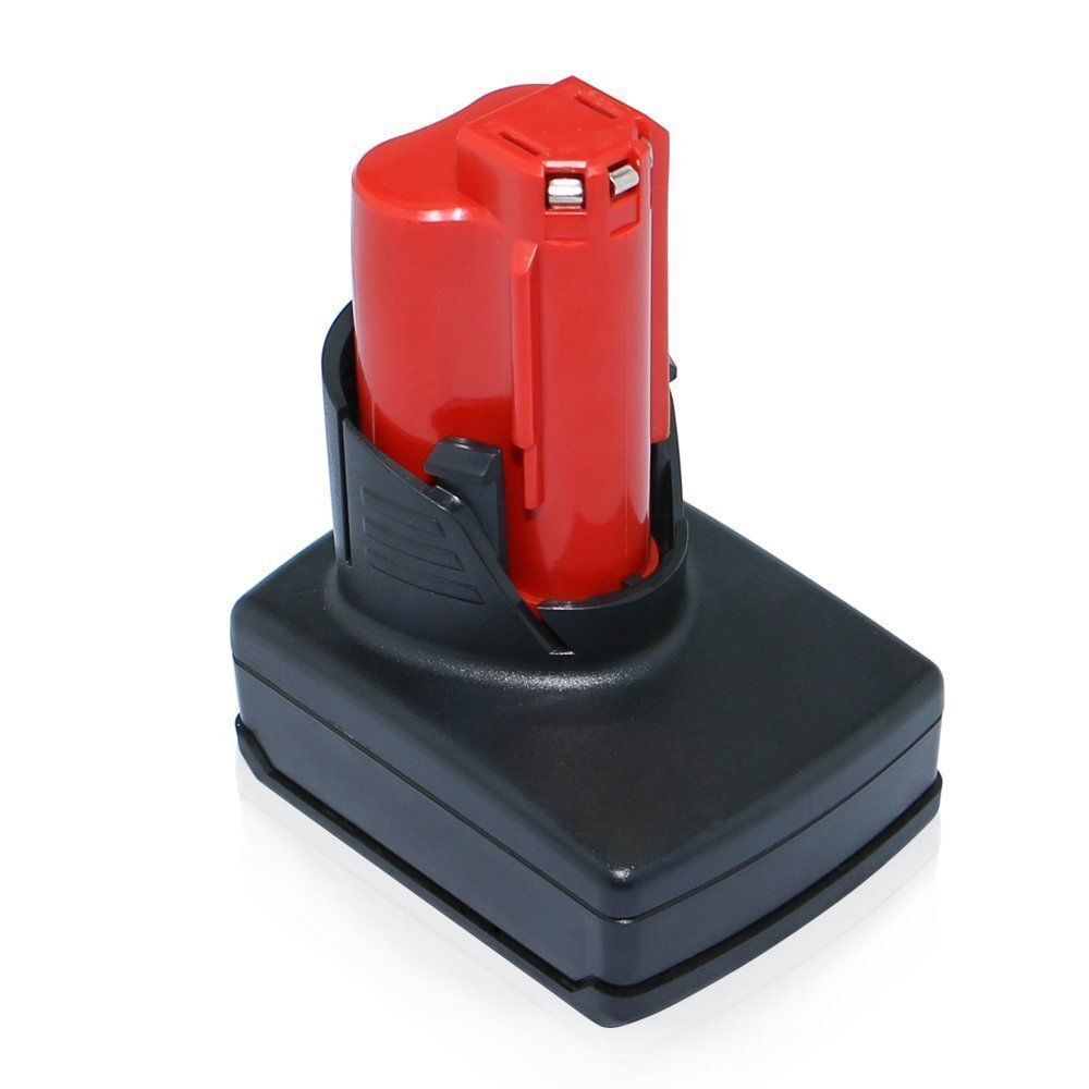 for milwaukee 48 11 2402 m12 li ion 12 volt red lithium battery xc 12v ebay. Black Bedroom Furniture Sets. Home Design Ideas