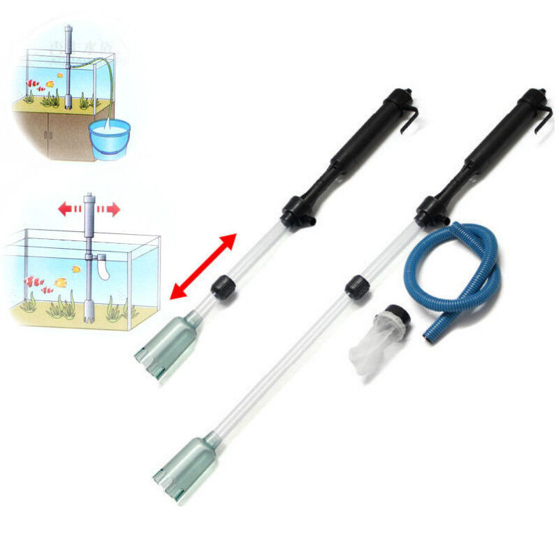 Battery powered fish tank gravel vacuum cleaner aquarium for Battery operated fish