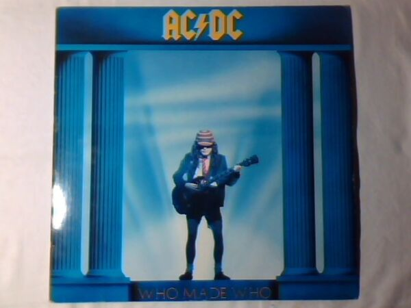 AC/DC Who made who lp GERMANY