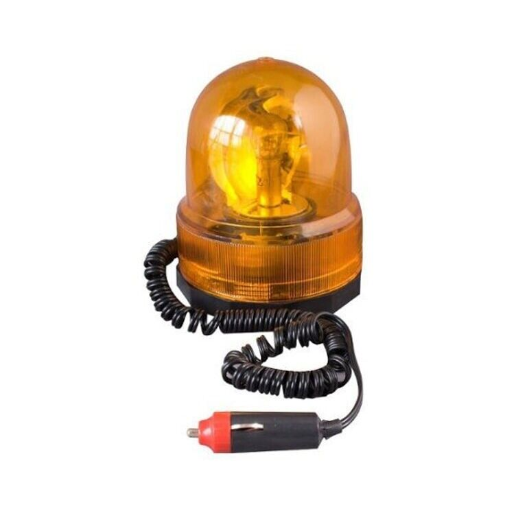 Tractor Amber Safety Lights : V yellow amber rotating beacon emergency magnetic