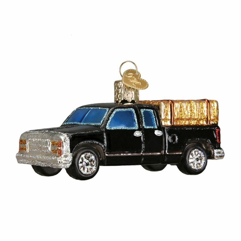 """Ranch Truck"" (46057) Old World Christmas Glass Ornament ..."