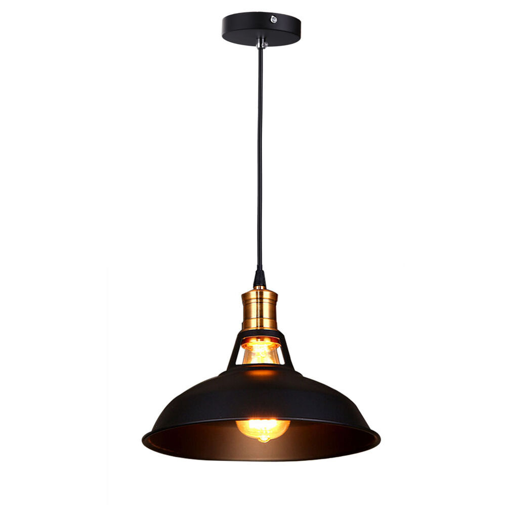 vintage edison style industrial chandelier light retro cafe bar diy pendant lamp ebay. Black Bedroom Furniture Sets. Home Design Ideas