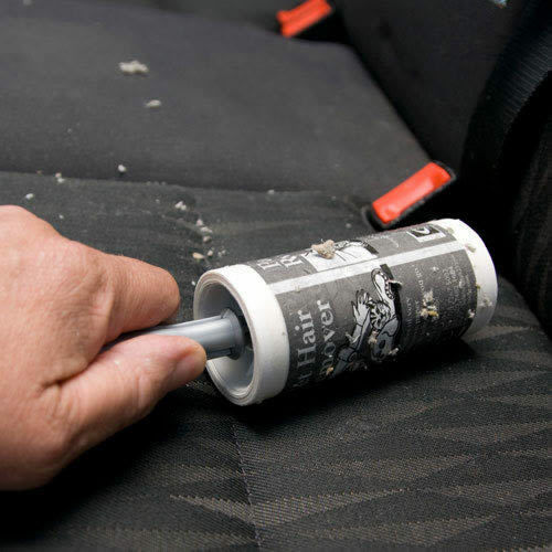 car seat upholstery cleaning sticky roller brush with 24ft roll 2159 1 5016776042057 ebay. Black Bedroom Furniture Sets. Home Design Ideas
