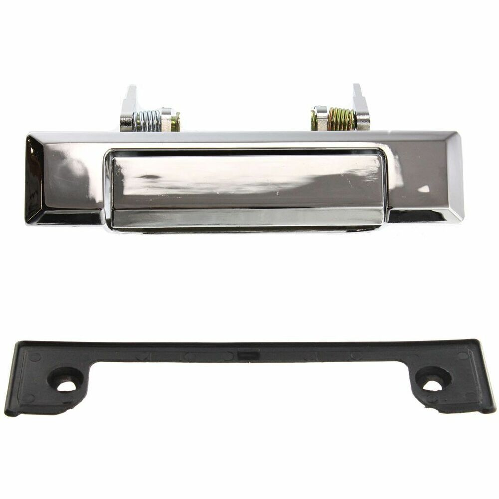 Toyota 4runner 84 89 Pickup Truck Front Outer Left Right Zinc Chrome Door Handle Ebay