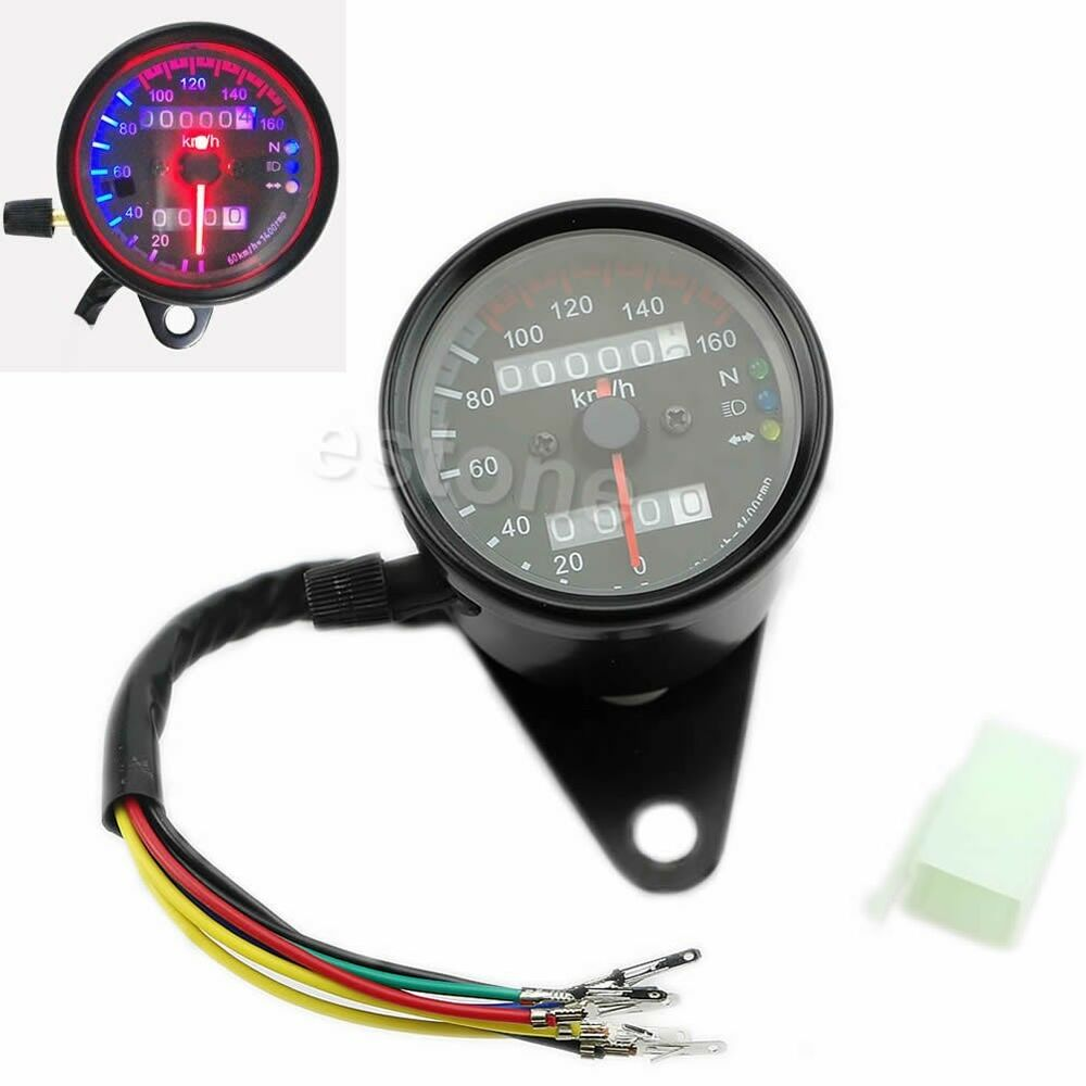 how to read a motorcycle odometer