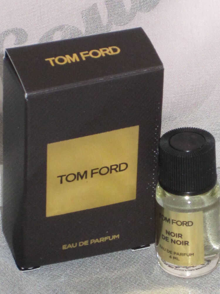 New Tom Ford Noir De Noir 4ml Perfume Ebay
