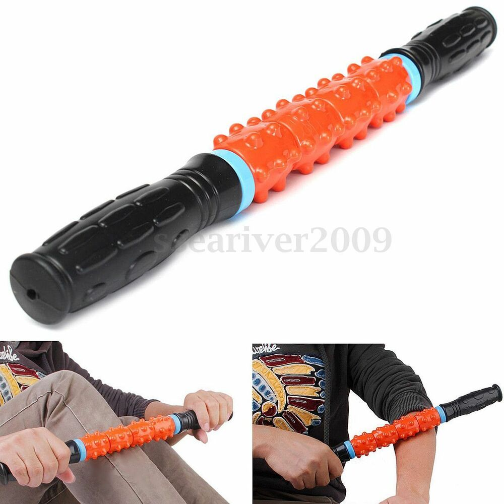 Sports Travel Massager Roller Stick Trigger Point Muscle