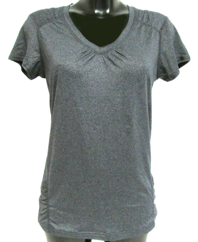 Costco Kirkland Signature Ladies Charcoal Grey V Neck T-shirt Top ...