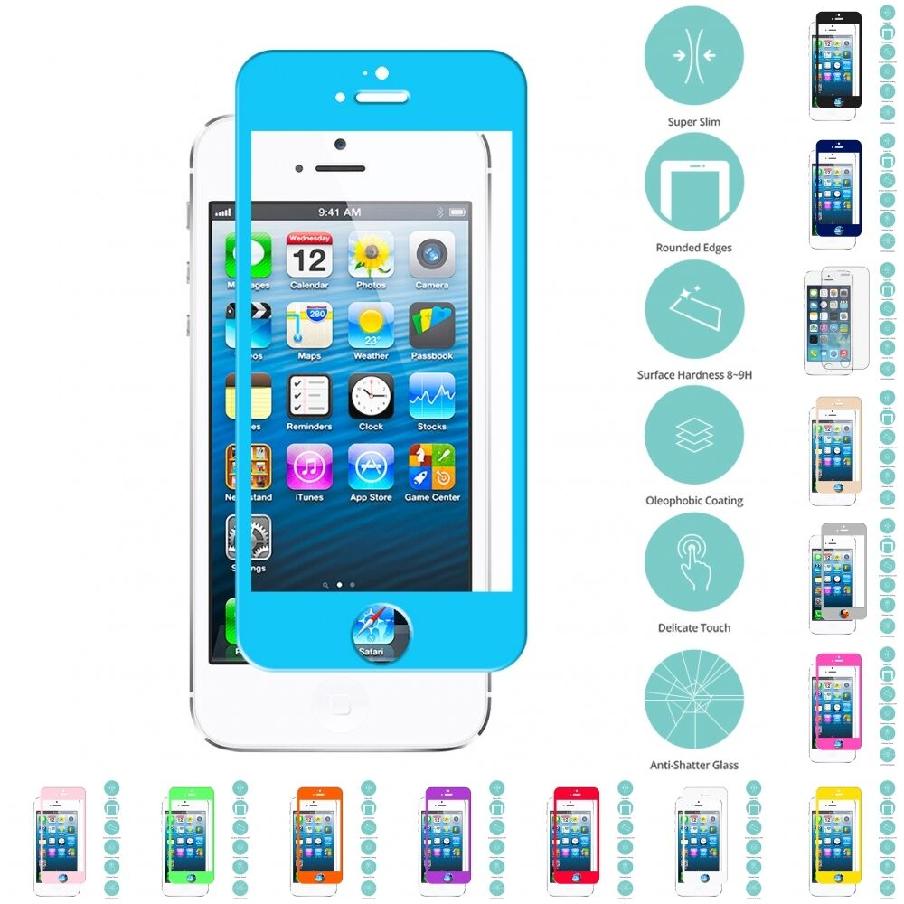 ebay iphone 5s for apple iphone 5 5s 5c tempered glass screen protector 1813