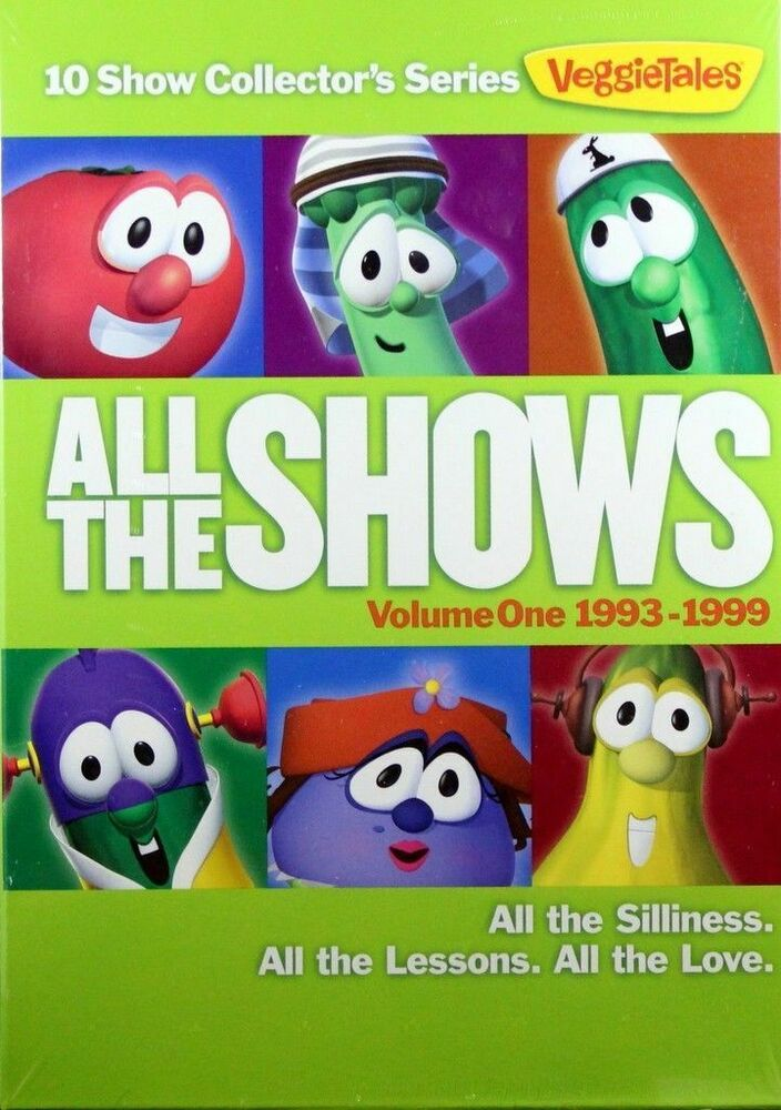 I All The Girls: VeggieTales Volume 1 All The Shows 1993-1999 NEW DVD 10