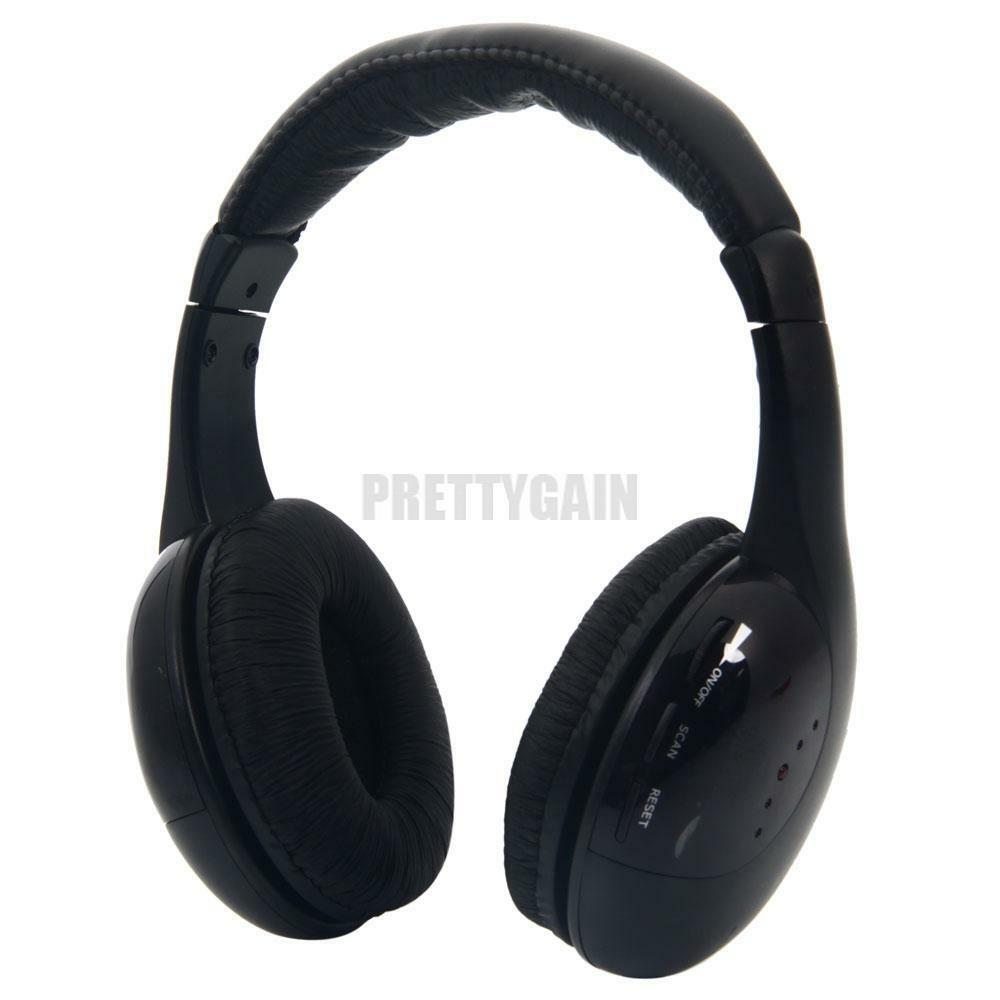 Tv headphones wireless with transmitter - HP - headset Overview