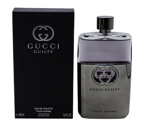 Gucci Guilty Pour Homme by Gucci 5.0 oz EDT Cologne for Men New In Box