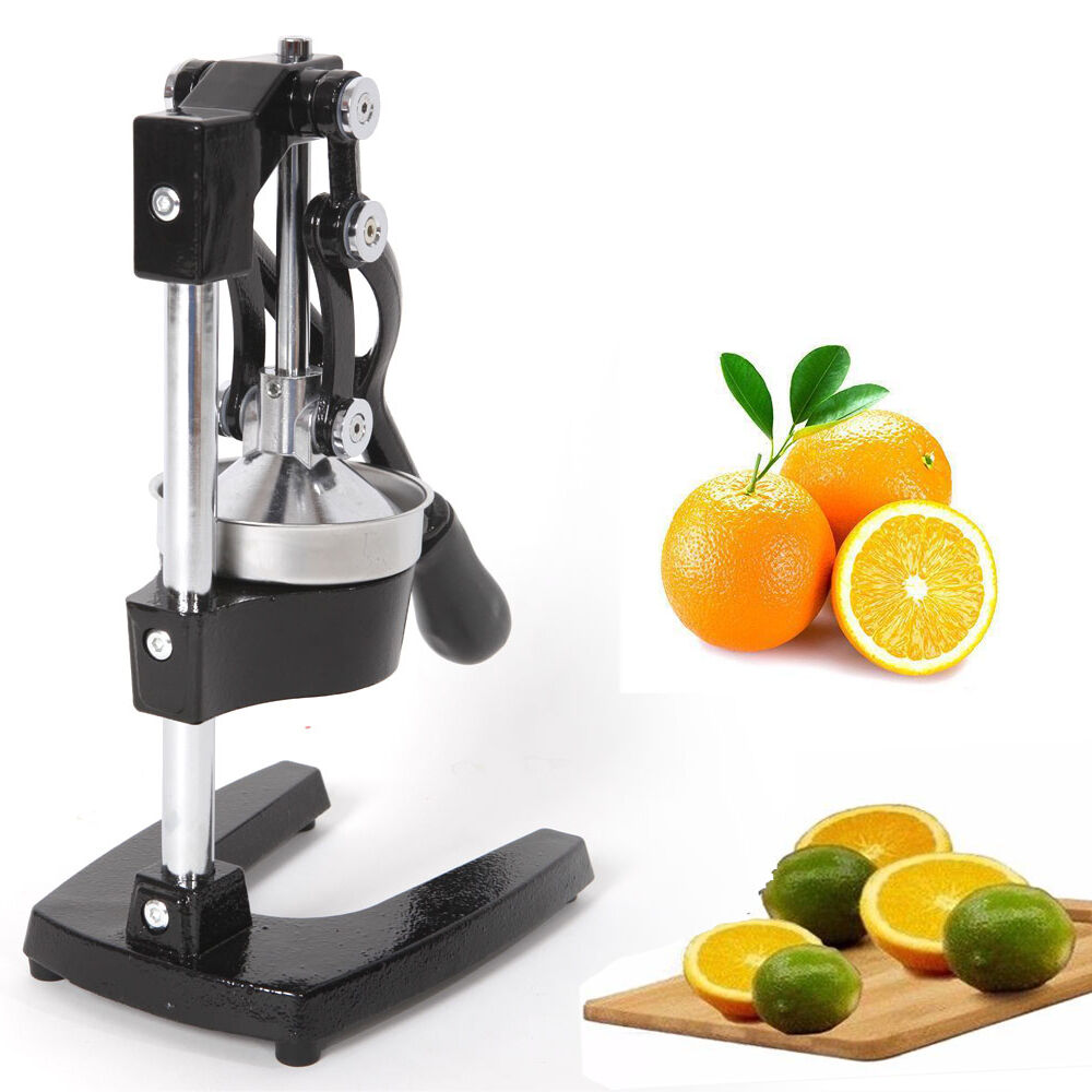 heavy duty commercial bar citrus press orange lemon fruit manual squeezer juicer ebay. Black Bedroom Furniture Sets. Home Design Ideas