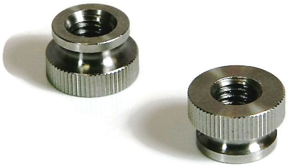 knurled thumb nut 18 8 stainless steel nuts size 2 56. Black Bedroom Furniture Sets. Home Design Ideas