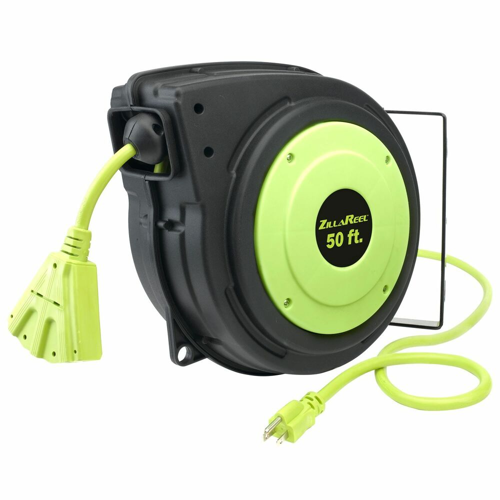 Zillareel Retractable Cord Reel New Ebay